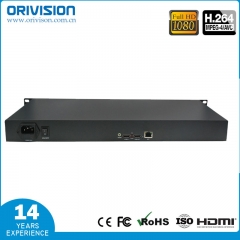 1 ch HDMI Video encoder with HDMI loop-out -1U Rac