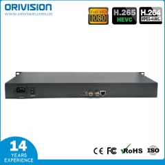 1 ch SDI Video Encoder with SDI loop-out -1U Rack-