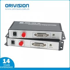 DVI Extender with Fiber Optic