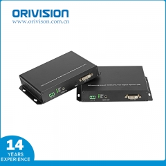 DVI Extender with Fiber Optic, No Compression