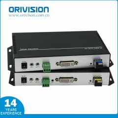 4K DVI EXTENDER with Fiber Optic, No Compression