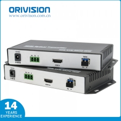 4K60HZ HDMI KVM Optical Fiber Extender with LC/USB